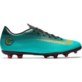 Chuteira Preta Com Brilho Cr7 Masculino Nike - Chuteiras Verde no ... 8ed308afda9b3