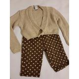 Conjunto De Bebe 6 A 8 Meses Pantalon Old Navy Sweater Zara