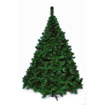 Árbol De Navidad Premium 2,10 Mts Pie Metálico - Sheshu