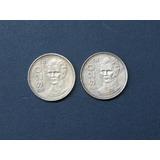 Ganga Par De Moneda 20 Pesos 1985 Gpe. Victoria 2 Variedades