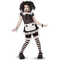 Disfraz Para Niña Traje De Muñeca De Trapo Gótica Tween