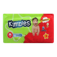Pañal Kimbies Mediano Con 40 Pzs