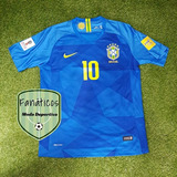 Camiseta Brasil Titular Alterna Mundial 2018 Neymar Coutinho