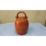 Moringa De Barro Antiga Dimensão 25 Cm 10 Cm (usada)
