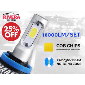 Kit Lamparas Led Cree Cob No Xenon H4-h7-h11 18.000 Lumens!