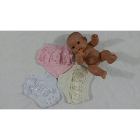 Pantaletas Para Niñas Con Faralaos T 1, 2, 3 Y 4 (set De 3)