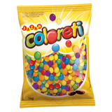 Confete Chocolate Coloreti Jazam 1kg (m&ms) Promoção