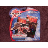 Bakugan Card Power Pack Set De 10 Envio Gratis!!! Kikkoman65