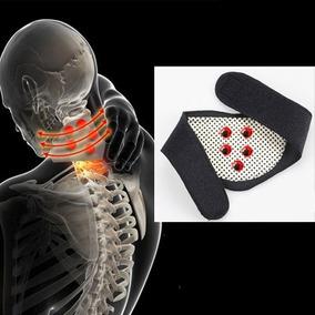 Collar Terapia Magnetica Turmalina Soporte Cuello Imanes