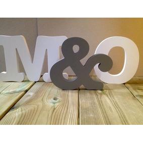 Letras, Nombres, Logos, En Madera Y Mdf, De 30cm