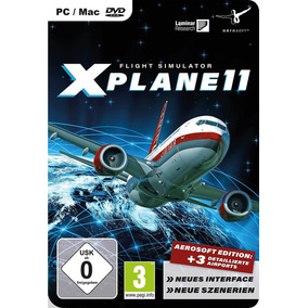 X Plane 11 Simulador De Vuelo+global Scenery Dlc-pc Digital
