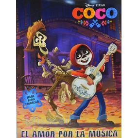10 Libro Para Colorear Coco Recuerdos Fiesta, Bolos :)
