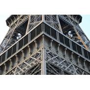 Cuadro 2-torre Eiffel-paris-close Up 32x20  C/marco Madera
