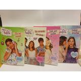 Violetta Lote De 4 Libros Como Nuevos Disney Channel