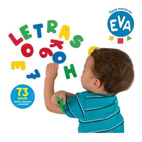 Conjunto De Peças - Mundo Das Letras Em Eva - Toyster