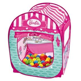 Barraca Infantil Com 50 Bolinhas - Barbie - Doceria Fabulosa