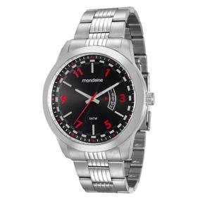 Relógio Masculino Mondaine 94966g0mvna1 Analógico Cromado
