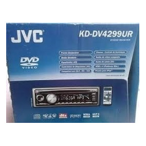 Dvd Play Jvc Kd-dv4299ur Só Peças De Acessórios Kit