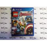 Lego Avengers Ps4 Nuevo Envío Inmediato Y Incluido