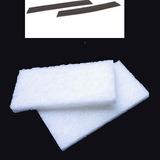 Repuesto Limpia Ventana Vidrios Magnetico 2 Escobillas Paños
