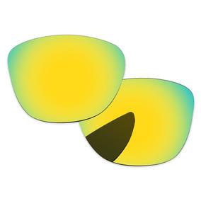601a4a8b16a20 Oculos Oakley Sliver Dourado - Óculos De Sol Oakley no Mercado Livre ...