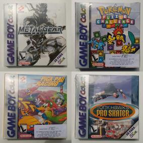 Kit Com 4 Jogos Para Game Boy Color Lacrados