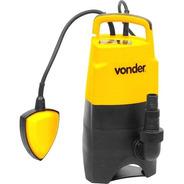 Bomba D'água Sapo Água Suja/limpa Submersível Vonder