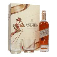 Whisky Johnnie Walker Gold Label Reserve 750ml C/2 Vasos