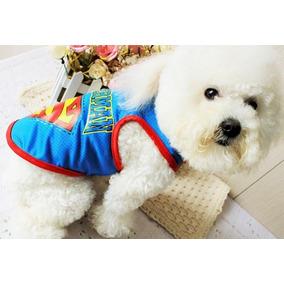 Roupa Pet Superman Seu Cão Super Herói