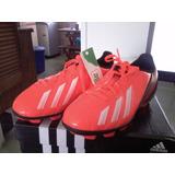 adidas F5 Zapatos Tacos Futbol Niños Guayos Fucsia