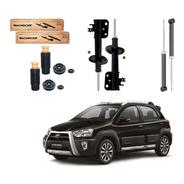 Kit Amortecedor Dianteiro Traseiro Toyota Etios Cross 2014