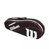 Bolso Raquetero Wilson Advantage Iii Team X3 Raquetas Tenis