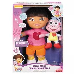 Dora Y Botas Canta Con Nosotros Fisher Price Nuevo!!