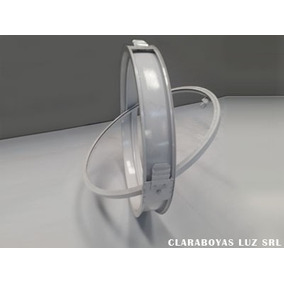 Ojo De Buey En Aluminio 50 Fijo Pintado