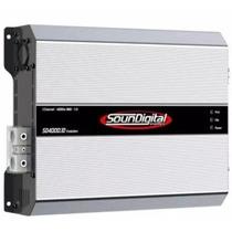 Módulo Soundigital Sd 4000.1d Sd4000 4000w Rms 1 E 2ohms