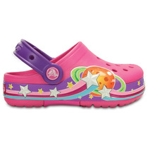 Zapato Crocs Niña Crocsligts Galactic Clog Con Luces