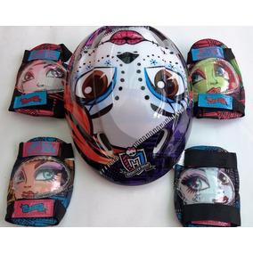 Monster High Kit D Protección Patines Bic Patineta +envio Gr