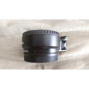 Canon Efm A Ef (adaptador Para Canon M A Los Lentes Comunes)