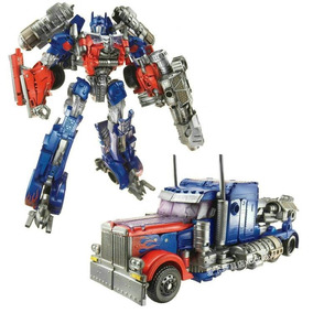 Juguetes Combo Transformers Optimus Prime + Dinobot