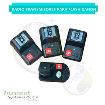 Radio Transmisores De Flash Canon Inco