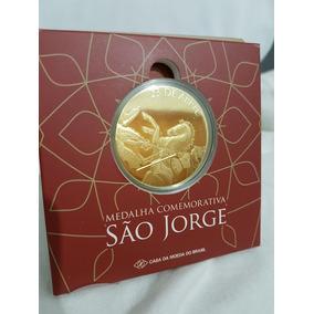Medalha 40mm São Jorge Casa Da Moeda