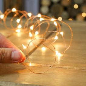 Tira De Luz Mini Led 5mt Alambre Moldeable Navidad Navideña