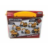 Constructor Truck Machine Con Destornillador A Pila Ditoys