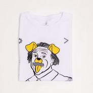 Camiseta Einstein No Instagram - 100% Algodão - Use Café