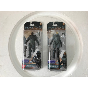 Figuras Halo Guardians Spartan Kelly Y Locke No Master Chief