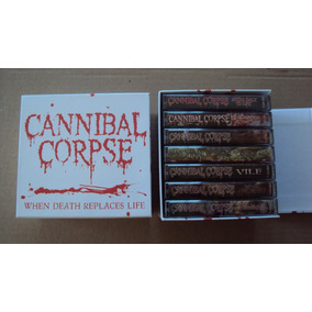 Cannibal Corpse - When Death Replaces Life - 7 Tapes Box Red