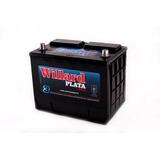 Bateria Willard 12v Ub710 Ub 710 Japon Plata Blindada