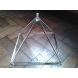 Piramide De Cristal De Cuarzo Resonante De 5 Pulgadas