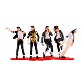 Michael Jackson Set 5 Figuras, Coleccion Muñecos, Rock, Pop