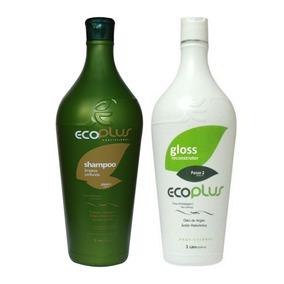 Escova Ecoplus Definitiva Argan Progressiva 2x1l Original